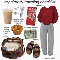 @ Hibisqusbae Lazy Outfits Hibisqusbae The Effective Pictures We Offer You About airpor Travel Bag Essentials, Road Trip Essentials, Road Trip Hacks, Travel Checklist, Road Trip Checklist, Airplane Essentials, Travel Necessities, Summer Essentials, Sick Day Essentials