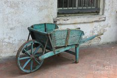 Cart For Sale Print By Suzanne Gaff