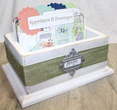 RECIPE BOX Recipe Dividers 4 x 6 Recipe Cards by peachykeenday