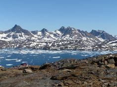 Tasiilaq With The Fjord And Surrounding Mountains ,Greenland