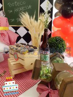 Festa Boteco - Decoração Gafieira