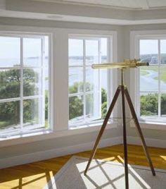 nautical brass telescope