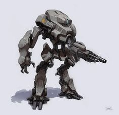 mech | War mech concept I finished today. What say more about it? just robot ...
