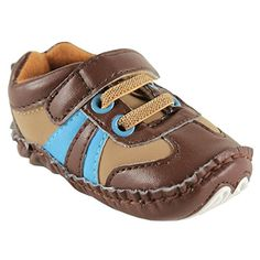 038b6d7bf27 Luvable Friends Explorer Sneaker Infant Brown 1218 Months M US Infant **  You can find