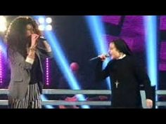 """GIRLS JUST WANT TO HAVE FUN"" | SUOR CRISTINA SCUCCIA VS LUNA PALUMBO - THE VOICE ITALY 16-4-2014- - YouTube"