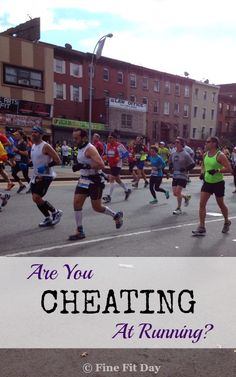 Are You Cheating at Running? What's considered cheating when running races or training is not always as black and white as doping scandals and cutting the course short. Check out this list of things you may not even have considered to be a way to cheat for runners. See if you do anything others may consider giving yourself an unfair advantage.