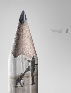 Amnistía Internacional conciencia de una forma muy gráfica | VolvemosEn3Minutos