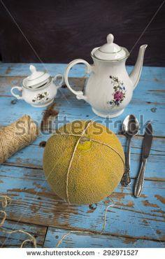 Breakfast in the kitchen - stock photo