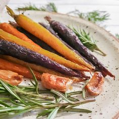 Honey roasted carrots recipe - colourful rainbow dutch carrots roasted in honey and garlic are a perfect addition to any roast dinner. Perfectly cooked, sweet and tender, these roasted carrots are bursting with flavour. This roast carrot recipe is perfection. Cooking with Bry has all your recipe needs from soups to salads, pasta to rice, and plenty of delicious dinner ideas.