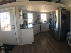 560 sq ft home for sale on the tiny house marketplace this custom built home features 560 square feet of space 1 years old 1 bedroom 1 bath Tiny House Layout, Shed To Tiny House, Tiny House Cabin, Tiny House Living, Tiny House Design, Shed Cabin, Living Room, Lofted Barn Cabin, Cabin Loft