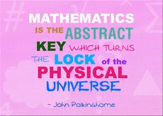 Mathematics is the abstract key which turns the lock of the physical universe. #MathQuotes #Math http://www.mathfilefoldergames.com/math-cafe/math-quotes/