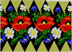 VK is the largest European social network with more than 100 million active users. Beaded Ornaments, Brick Stitch, Beaded Embroidery, Bowser, Seed Beads, Origami, Diy And Crafts, Projects To Try, Cross Stitch