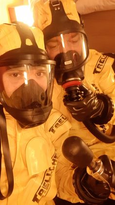 Biohazard, Hazmat Suit, Emergency Management, Full Face Mask, Pvc Vinyl, Latex, Boots, Gears, Safety