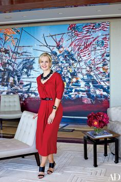 Jewelry Designer Kara Ross's Glamorous Penthouse in New York City Photos | Architectural Digest