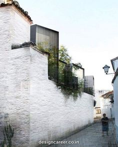 Hospedería en Extremadura by Amann-Cánovas-Maruri Arquitectos Architecture Cool, Architecture Drawings, Contemporary Architecture, Landscape Architecture, Computer Architecture, Chinese Architecture, Habitat Collectif, Bauhaus, Architectural Presentation