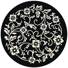 TILE ART DECALS - Clematis 027