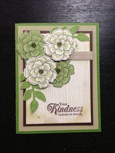 Secret Garden & Woodgrain Embossing Folder