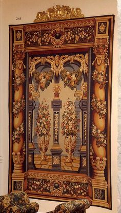 Columns Tapestry. h1Columns Tapestry_h1Columns Tapestry. Created by skilled designers, this beautiful tapestry was jacquard-woven in the mills of Europe, utilizing decades of experience from the worlds finest weavers. It combines hig.. . See More Wall Tapestries at http://www.ourgreatshop.com/Wall-Tapestries-C1115.aspx
