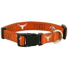 Pet Goods NCAA Texas Longhorns Dog Collar Medium *** You can get more details by clicking on the image.Note:It is affiliate link to Amazon.