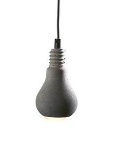 Tove Adam concrete lamp.