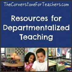 Tips from teachers who have departmentalized in elementary grades