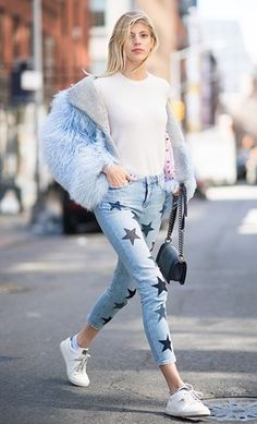 Love these star jeans!