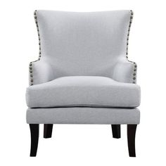 Re-imagine your living space with an accent chair that merges new designs concepts and classic aestheticism in one structure. The wide back support and low arm rest create a unique shape of modern décor.