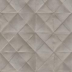 Dolphin Gray Diamond Shaped Non Woven Wallpaper.  Free Shipping!