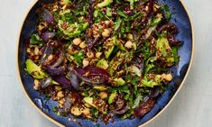 The sparky salad: Yotam Ottolenghi's quinoa with chickpeas, pumpkin seeds and herbs. Plus two more recipes for tinned pulses. Lentil Recipes, Lamb Recipes, Salad Recipes, Vegetarian Recipes, Cooking Recipes, Healthy Recipes, Meze Recipes, Chickpea Recipes, Yummy Recipes
