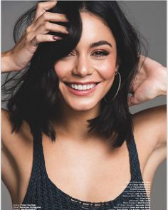 Vanessa Hudgens Wants To Work With Woody Allen - - In a recent interview with the L. Times, Vanessa Hudgens opened up about her desire to work with Woody Allen. She explained,. Vanessa Hudgens Short Hair, Vanessa Hudgens Style, Vanessa Hudgens Makeup, Marie Claire, Short Hair Styles, Natural Hair Styles, Celebrity Hairstyles, Girl Crushes, Look Alike