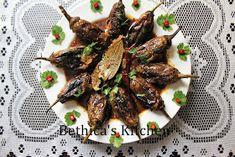 Bethica's Kitchen Flavours: Doi Begun / Dahi Baingan (Eggplants in Yoghurt Gravy - Bengali Style)
