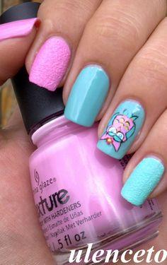 Owl+Pink+Turq.=Love