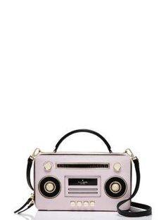 jazz things up boom box bag - Kate Spade New York - $398