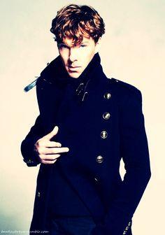 Benedict Cumberbatch aka Sherlock Holmes