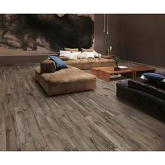 Navarro Beige Wood Plank Porcelain Tile 9in X 48in