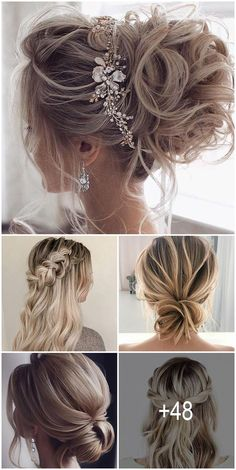 48 Hottest Bridesmaid Hairstyles For 2020 + Tips  Advice ❤ Looking for the suitable black women wedding hairstyles? We are offering some interesting wedding hairstyles that look great. #wedding #weddinghair #bridesmaidshairstyles Hair Dos For Wedding, Wedding Hairstyles For Long Hair, Bride Hairstyles, Bridesmaid Hairstyles, Bridesmaid Hair Up, Medium Hair Styles, Short Hair Styles, Quinceanera Hairstyles, Bridal Hair Updo