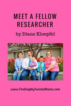 Meet a Fellow Researcher by Diane Kloepfel Copyright Adrienne Z. Milligan