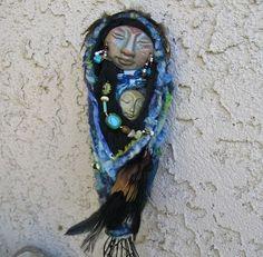 Spirit doll awww..mama and baby!