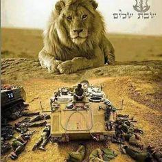 God defends Israel ...