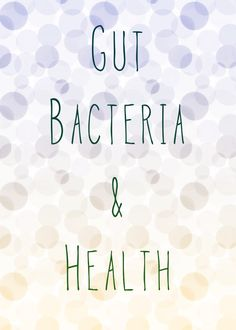"""Mother Nature Network reports: """"Gut bacteria may play a role in obesity."""" http://www.mnn.com/health/fitness-well-being/stories/gut-bacteria-may-play-a-role-in-obesity"""