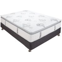 "Mercer 12"" Pillow Top Cool Gel Memory Foam & Innerspring Mattress"