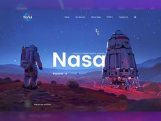 NASA !!!!!!!! Artwork cradit to : https://www.artstation.com/artwork/LbePA Press 'L' to like and drop your comment. dont forget to follow me