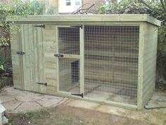 When Using A Dog Kennel For A Coop The Door Gaps Have To