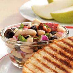 Tuscan Bean Salad Recipe