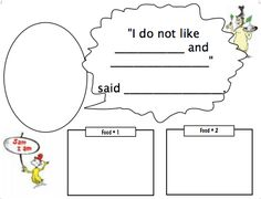 K: double stuffed: Green Eggs!