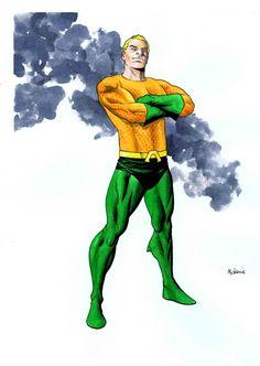 Aquaman by Mike McKone