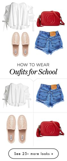 """""""Style"""" by anniemakuti on Polyvore featuring Caroline Constas and Gucci"""