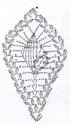 巻貝のモチーフ(編み図付き、アッキガイ、アクキガイ、パイナップル編み) : Crochet a little