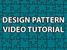 """""""Well hello internet and welcome...!!"""" (click through all the videos in succession to hear the many ways he can say this line).  His series of videos is a very helpful resource for learning design patterns. They are Java based but seem extendable to C#."""