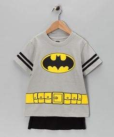 Small superheroes rejoice! This tee is as cozy as it is caped. It's perfect for everything from Halloween to daily wear. 50% cotton / 50% polyesterMachine wash; tumble dryImported
